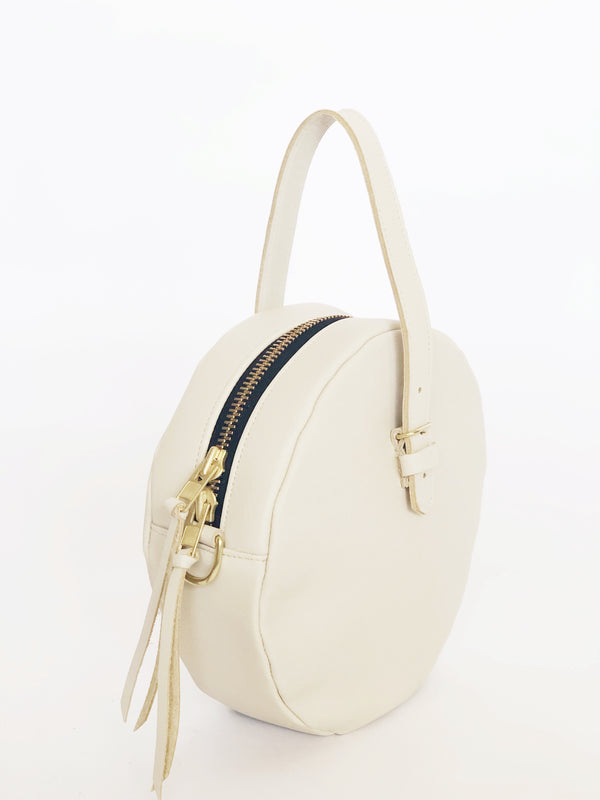 full moon bridle bag | beige