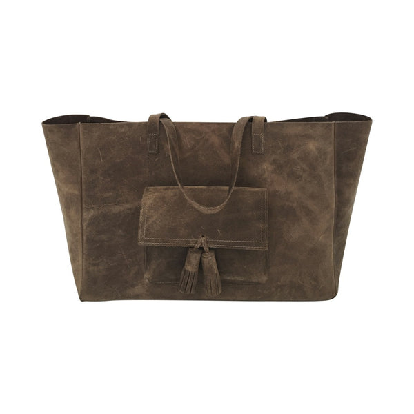 margaret carry all tote | chocolate