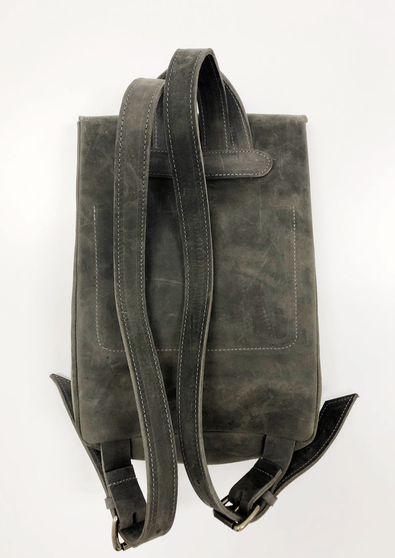 mini backpack | grey