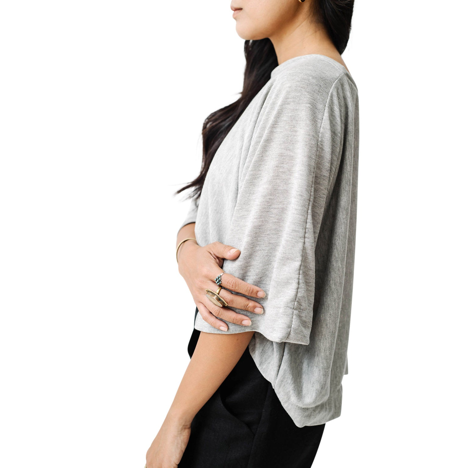 swing sweater | grey