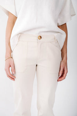 james denim pant | oatmeal