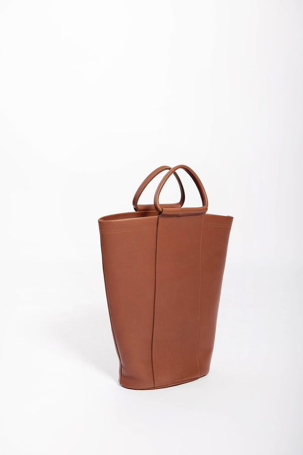 james grande panel bucket | cognac