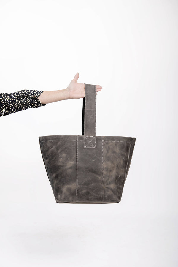 james petite market tote | grey