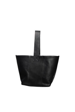 james petite market tote | black