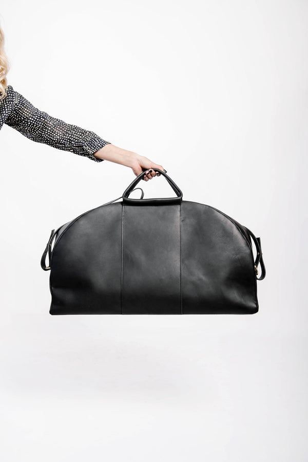 panel weekender | black