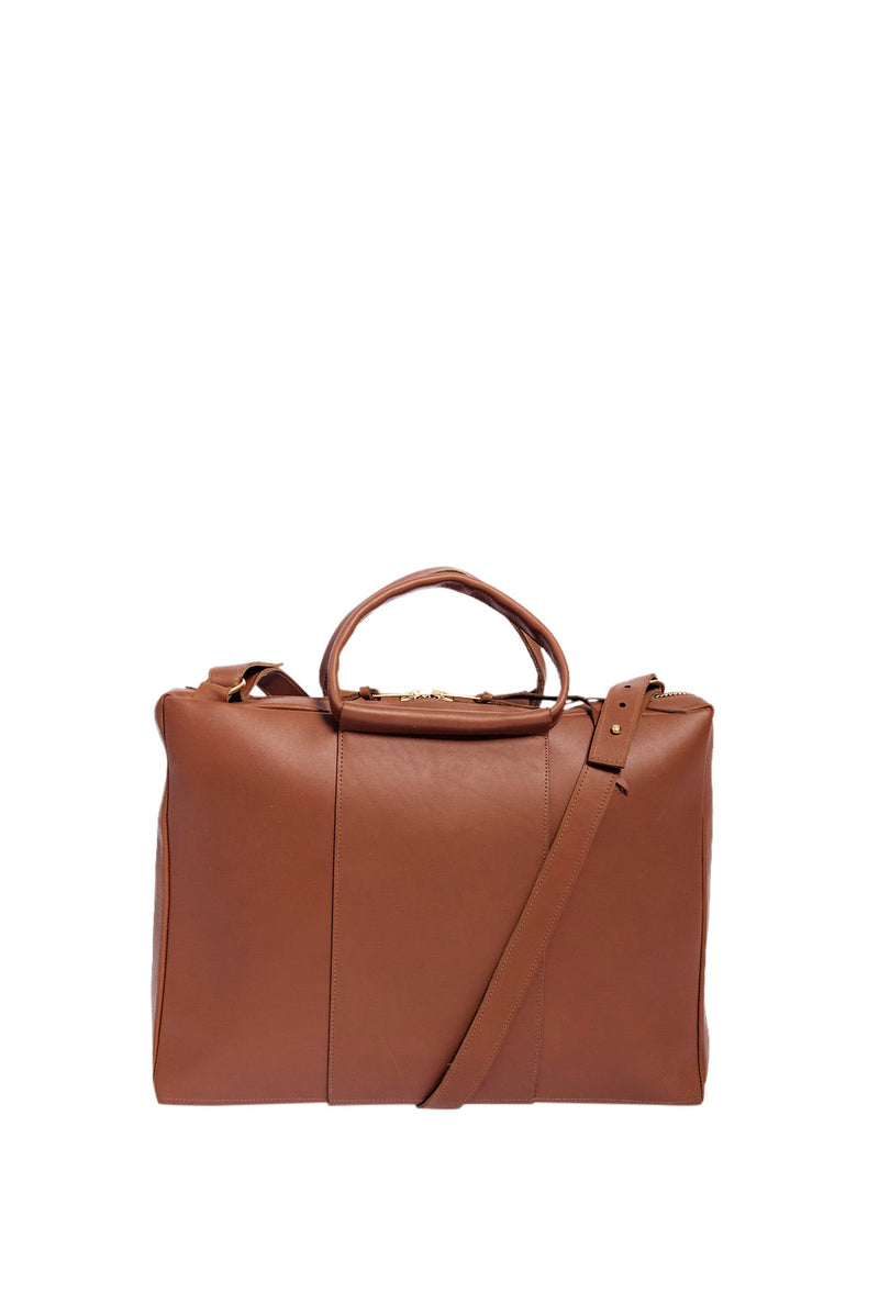 briefcase | cognac
