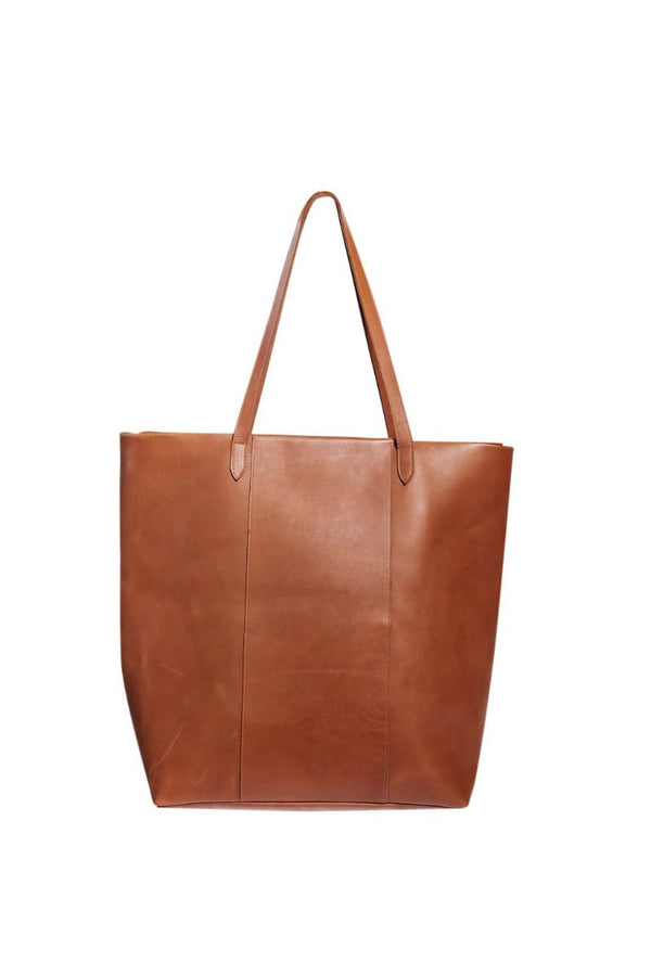 james petite work bag | cognac