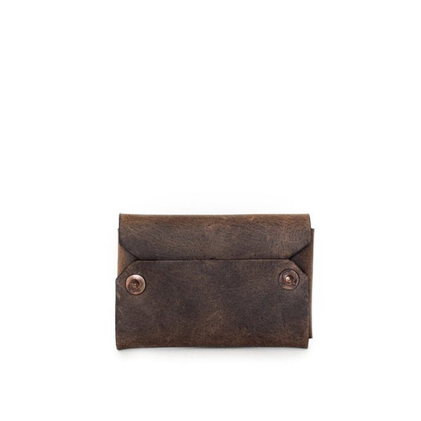 petite envelope wallet | chocolate