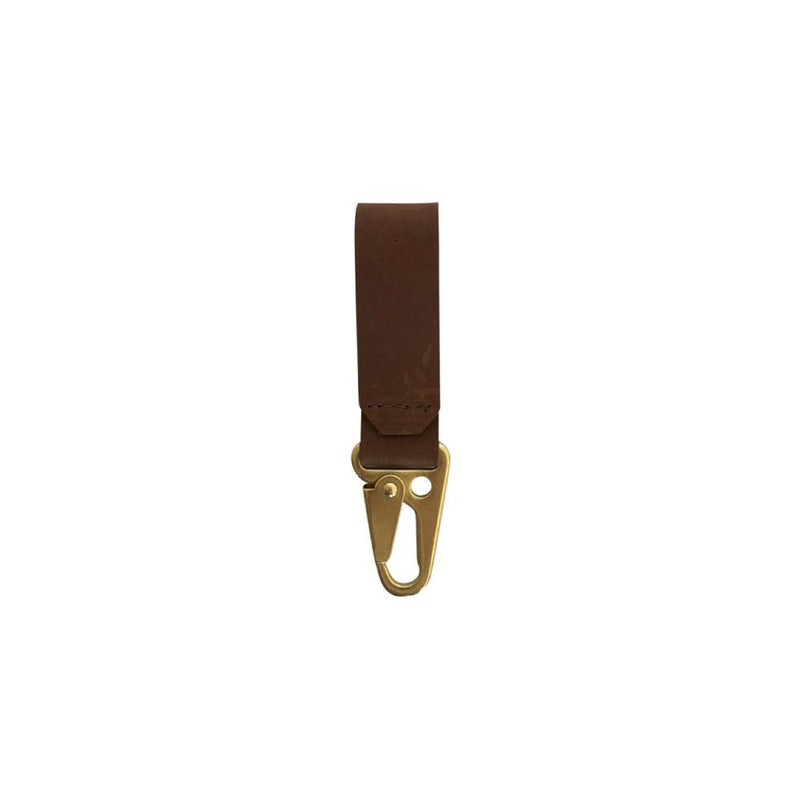 key clip | brown