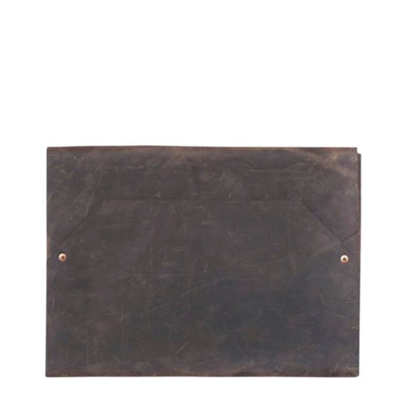 envelope laptop case | 13 inch | chocolate