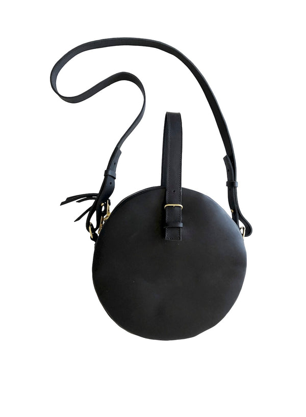 full moon bridle bag | black