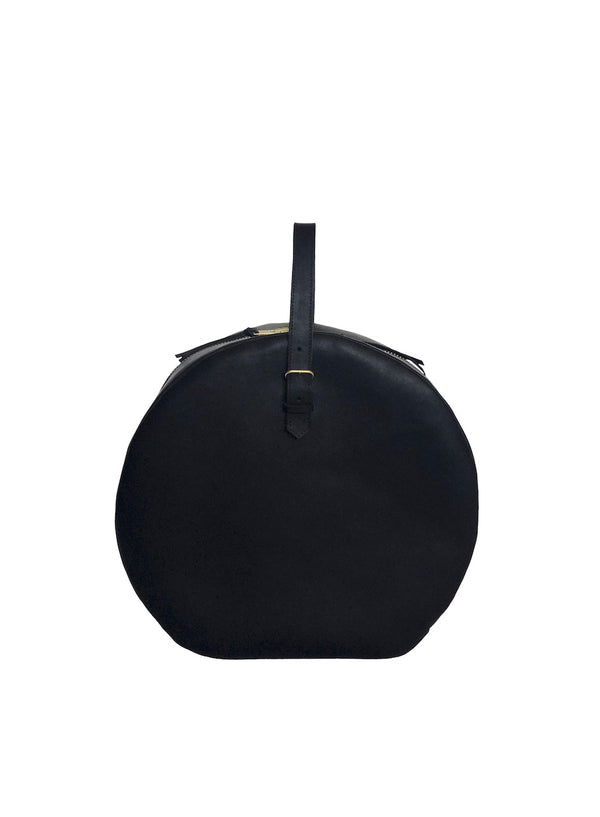 grande hat box | black