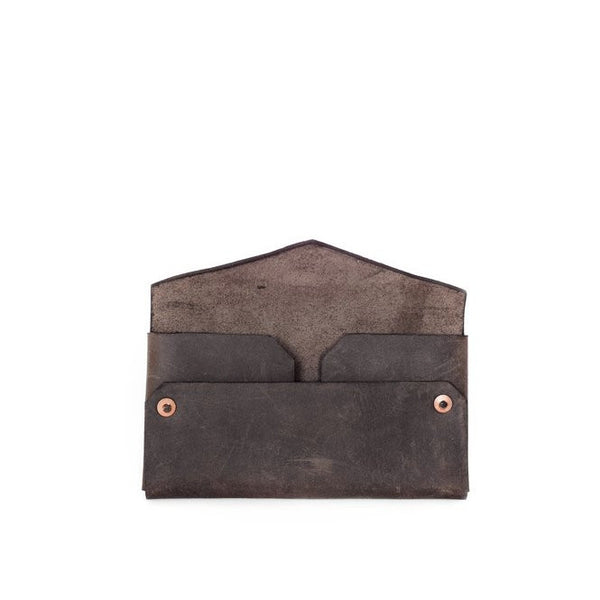 grande envelope wallet | chocolate