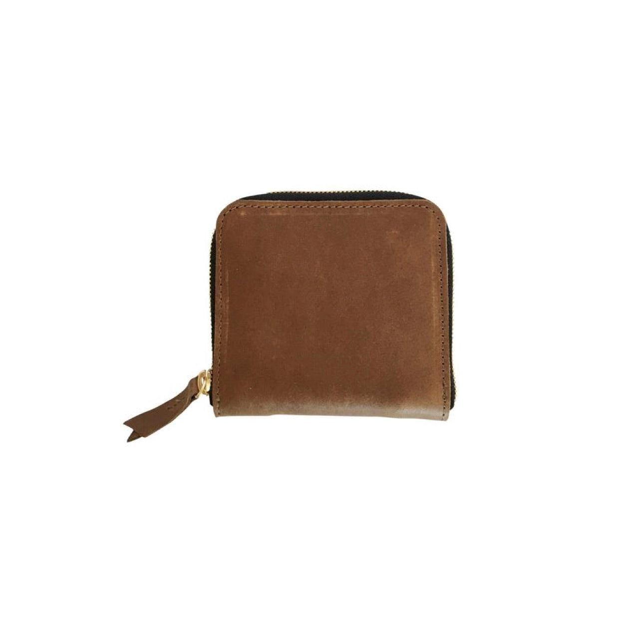 petite zippy wallet | brown