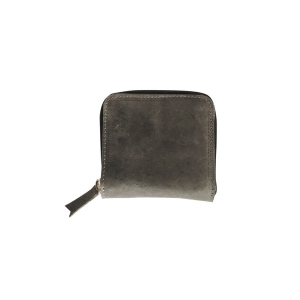 petite zippy wallet | grey