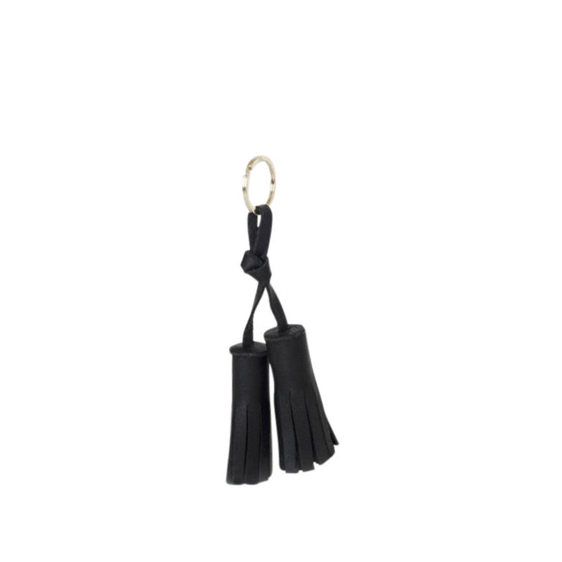 tassel key fob | black