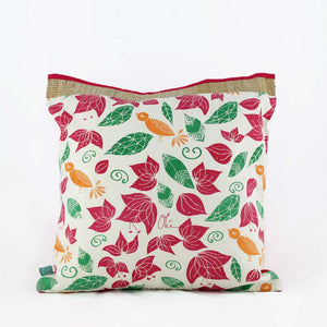 Lost in Flowers Ecru - Cushion Cover