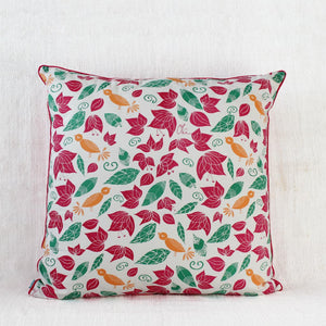 Lost in Flowers - Large Cushion Cover