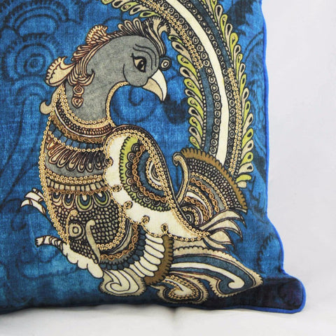Koyal - Indigo Cushion Cover