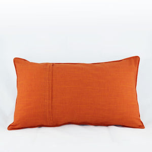 Koyal Tangerine - Long Cushion Cover