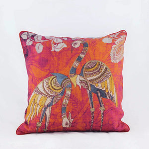 Sarus - Pink Cushion Cover