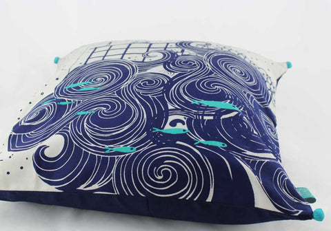 The Sea & I - Cushion Cover