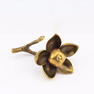 Woodrose - Decorative Brass Flower