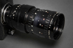 Angenieux 8:64 C mount lerns for the Pro8mm Classic Pro