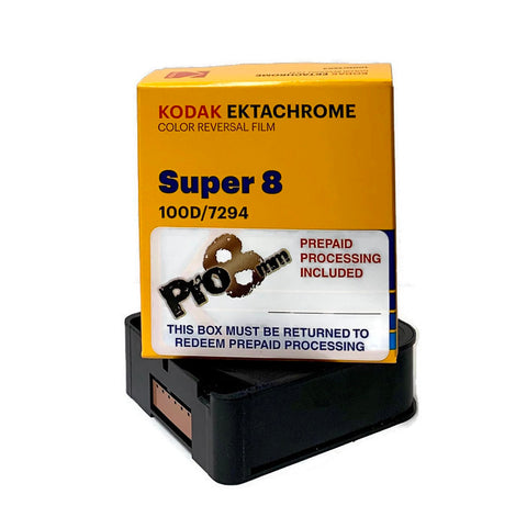 Super8-94 100D Ektachrome Package