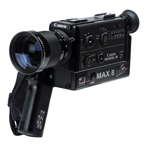Super 8 Camera Rental: Max1014xls with Max 8 and Crystal Sync