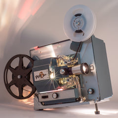 The Magnum 8 Super 8 Film Projector