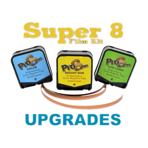 Super 8 Film Kit Upgrades