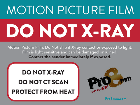 Do Not X-Ray Sticker