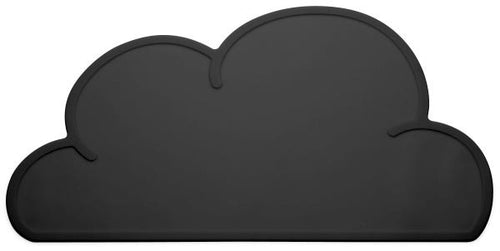 Silicone Cloud Placemat | Black