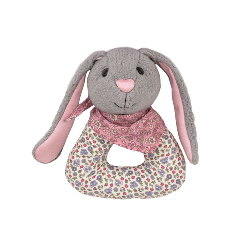 Bunny Patterned Rattle