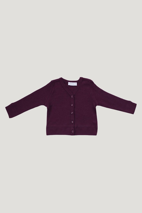 Cotton Modal Cardigan | Fig