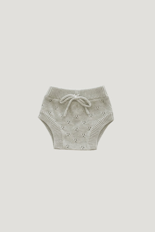 Pointelle Bloomer | Oatmeal