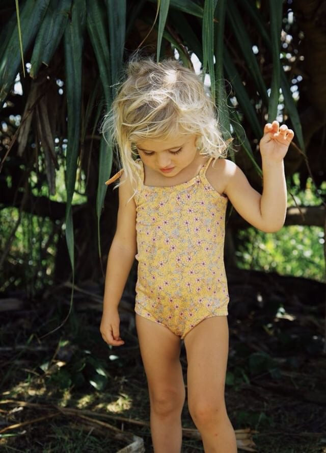 Fauna Floral Swim Suit