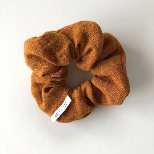 Scrunchie | Mustard Triple Gauze