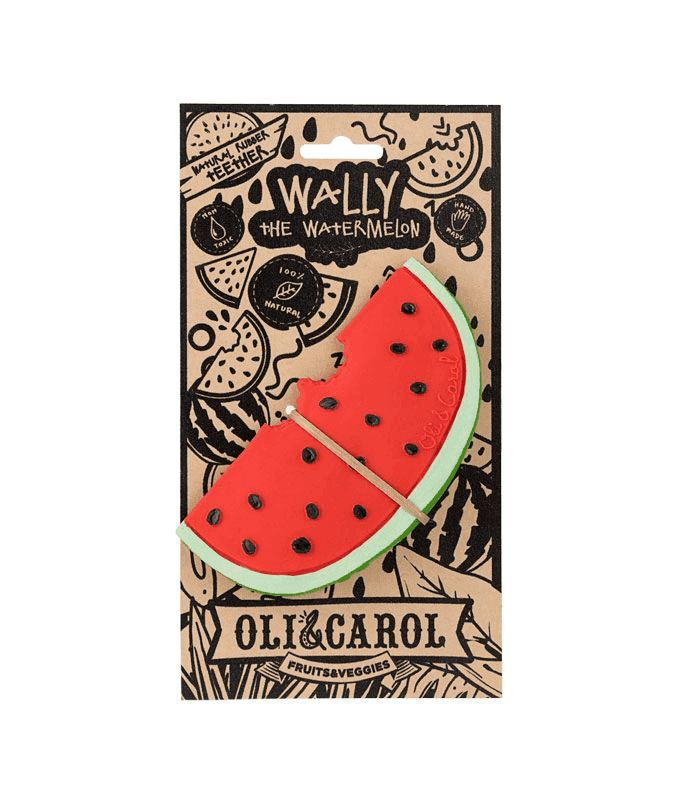 Oli & Carol Teether - Wally the Watermelon