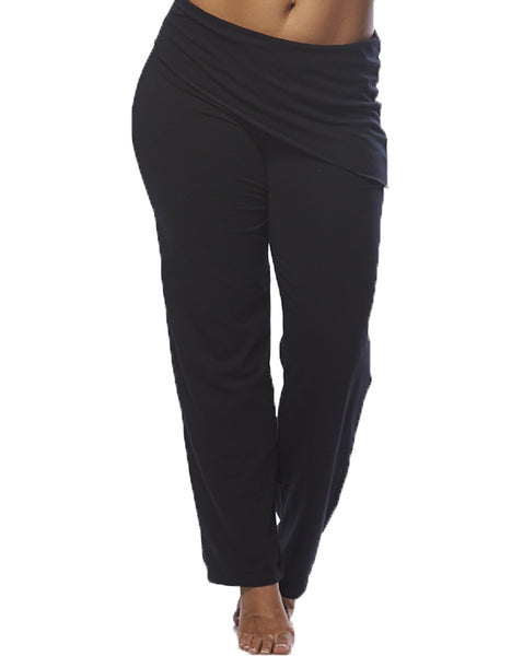 Asymmetrical Yoga Pants - Perfect for Plus Size