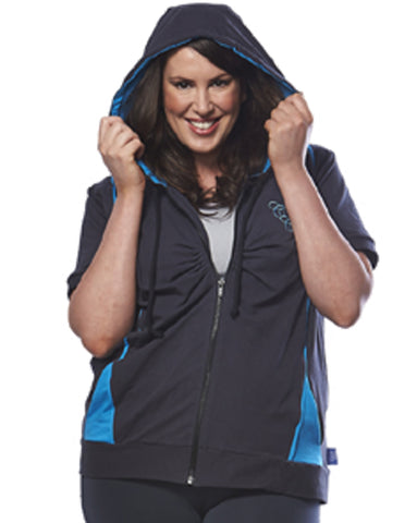Lightweight Stretch Hoodie | Plus Size Activewear