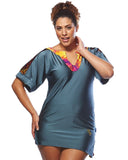 Mesh Kaftan For when you want to cover up | Plus Size Swimwear