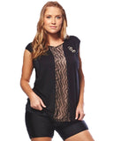 Anti Static Mesh Overtop | Plus Size Sportswear