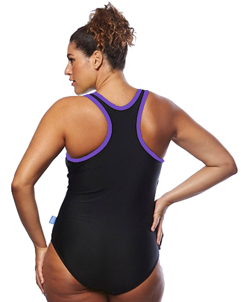 Back of Raceback Swimsuit | Plus Size Swimwear