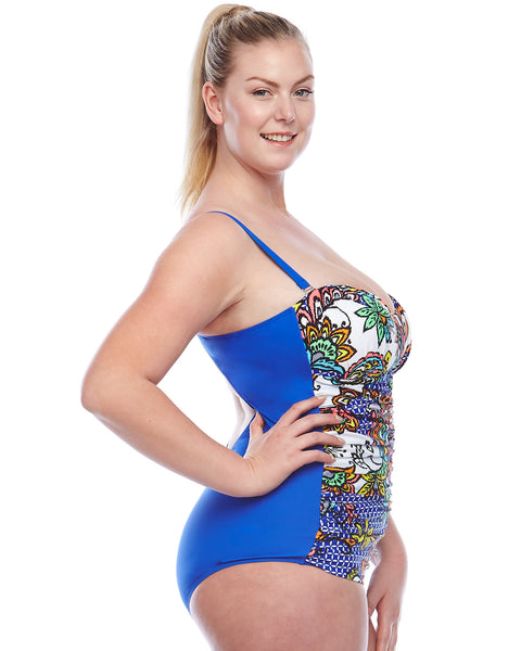 Tabada Swimsuit | Plus Size One Piece Compression