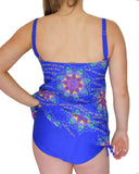 Chain Tankini Back | Plus Size Tankini