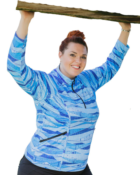 Stay Cool Long Sleeve UV30+ Sun Protection Shirt | Plus Size Sun Safe Top
