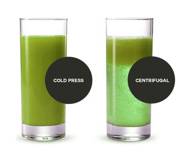 Cold Pressed vs. Centrifugal Juice