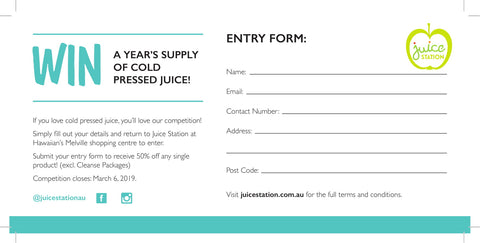 Win Healthy Juice for a year
